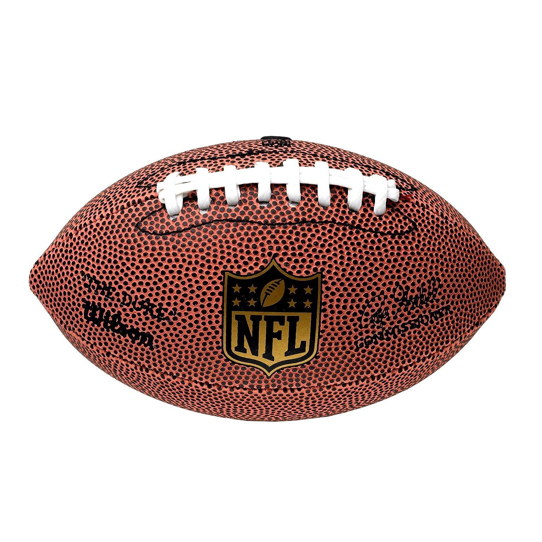 独特の上品 ウィルソンメンズNFL de Micro Micro American Football American フルサイズ タン B00AQV3HT4 B00AQV3HT4, カメラの大林:6812b9d8 --- arianechie.dominiotemporario.com