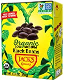 Jack's Organic Black Beans (8 PACK) – Filled with Protein & Fiber, Heart Healthy, Low Sodium, Non GMO, BPA Free, Ready…