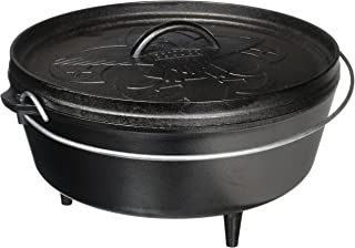 product image for Lodge Boy Scouts of America Cast Iron Camp Dutch Oven, Pre-Seasoned, 6-Quart