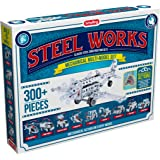 Schylling Steel Works Mechanical Multi-Model Construction Building Kit