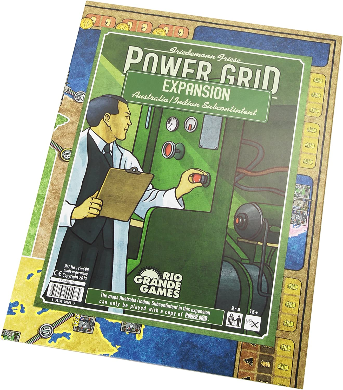 Río Grande - Power Grid Juego de Mesa, India y Australia, por Red ...