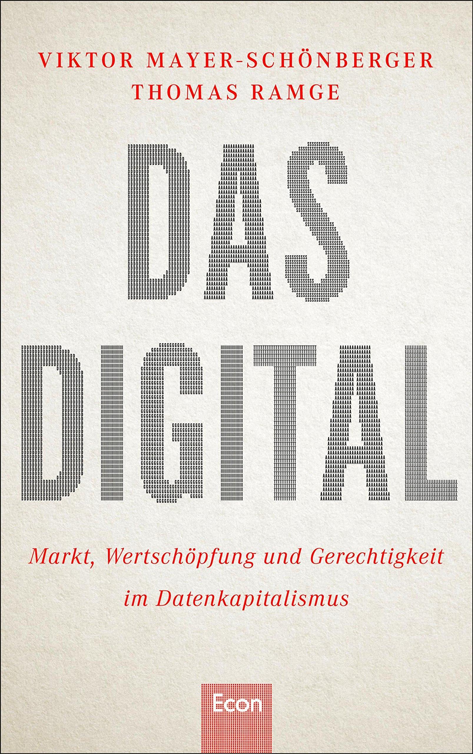 Das Digital: Markt, Wertschöpfung und Gerechtigkeit im ...