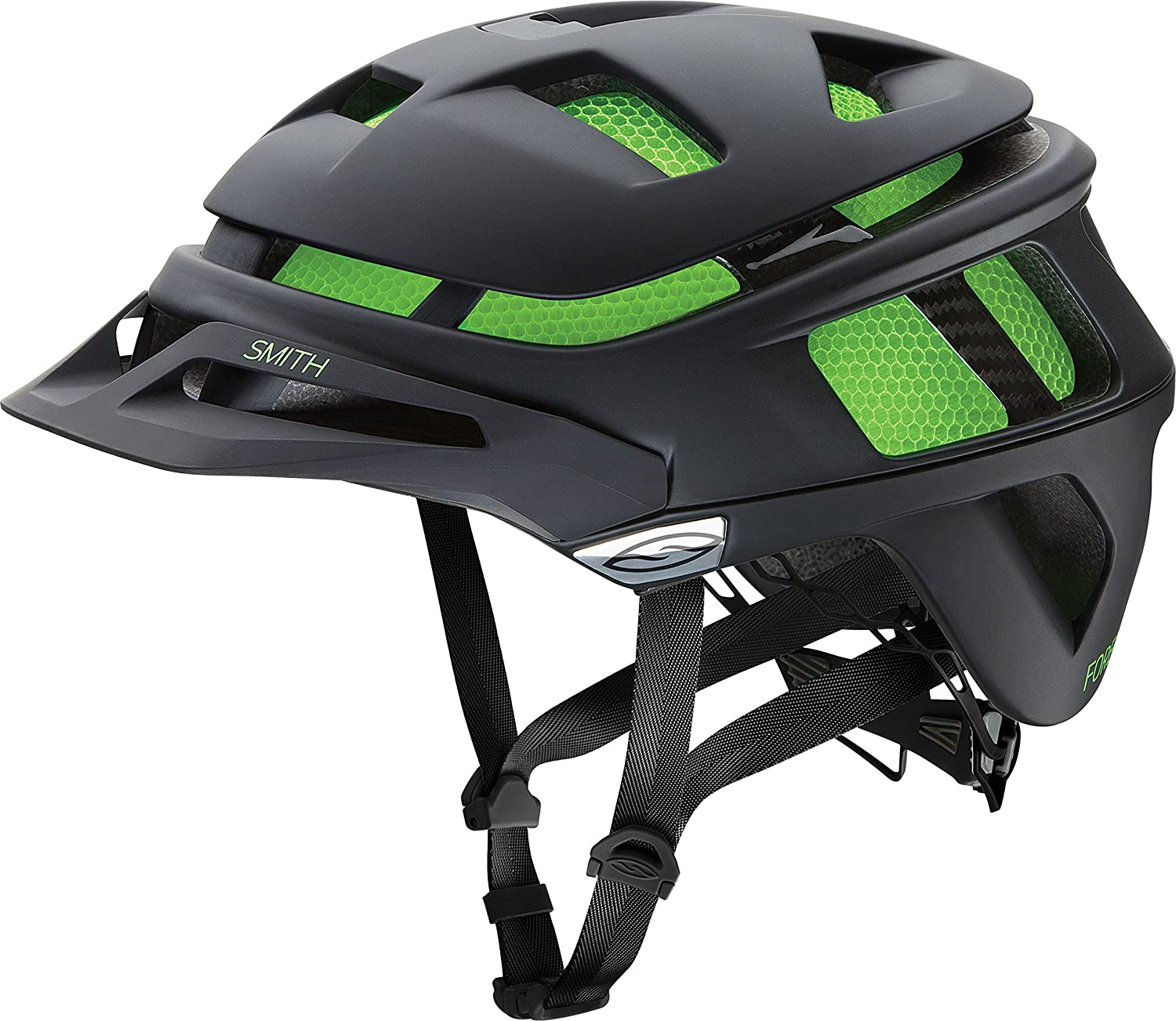 Smith Optics Forefront MIPS Adult MTB Cycling Helmet – Matte Black