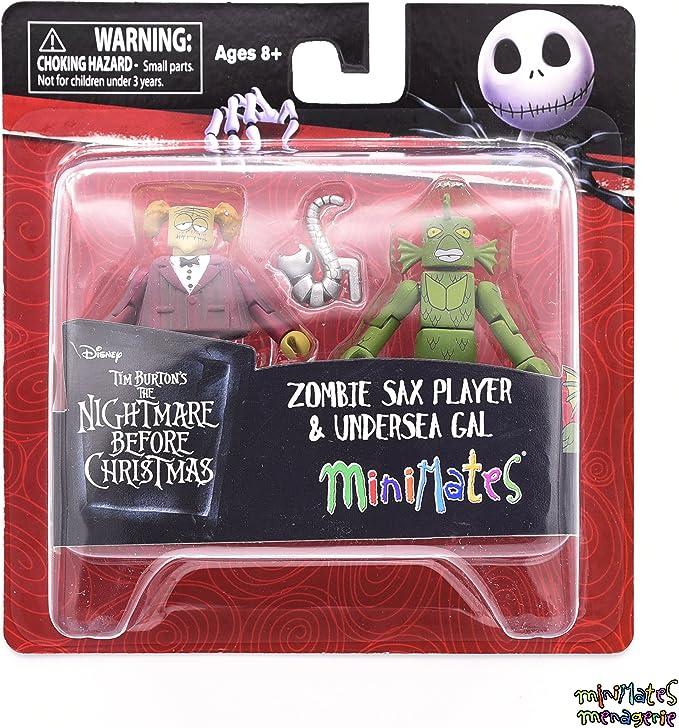 Nightmare Before Christmas Minimates TRU Wave 5 Complete Set