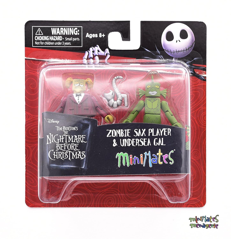Nightmare Before Christmas Zombie.Amazon Com Nightmare Before Christmas Minimates Series 4