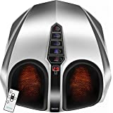 Belmint Shiatsu Foot Massager with Heat - Fathers Day Gift, Electric Deep-Kneading Massage Machine with Air Compression - Pai