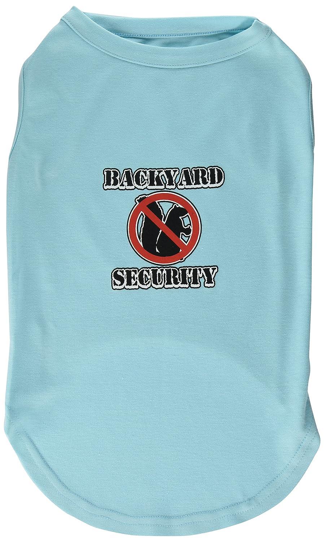 Aqua Mirage Pet Products 18-Inch Backyard Security Screen Print Shirts, XX-Large, Aqua