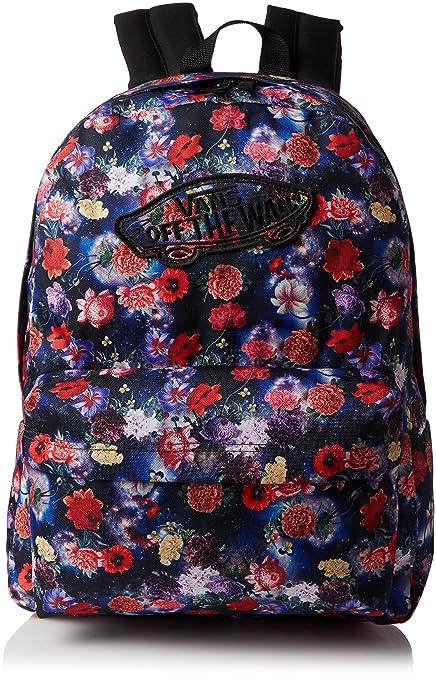 Amazon.com  Vans womens REALM BACKPACK VN-0NZ0HLF - GALAXY FLORAL ... 90818d445d4de