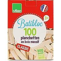 Vilac - Batibloc Classic, 100 Piezas en Madera