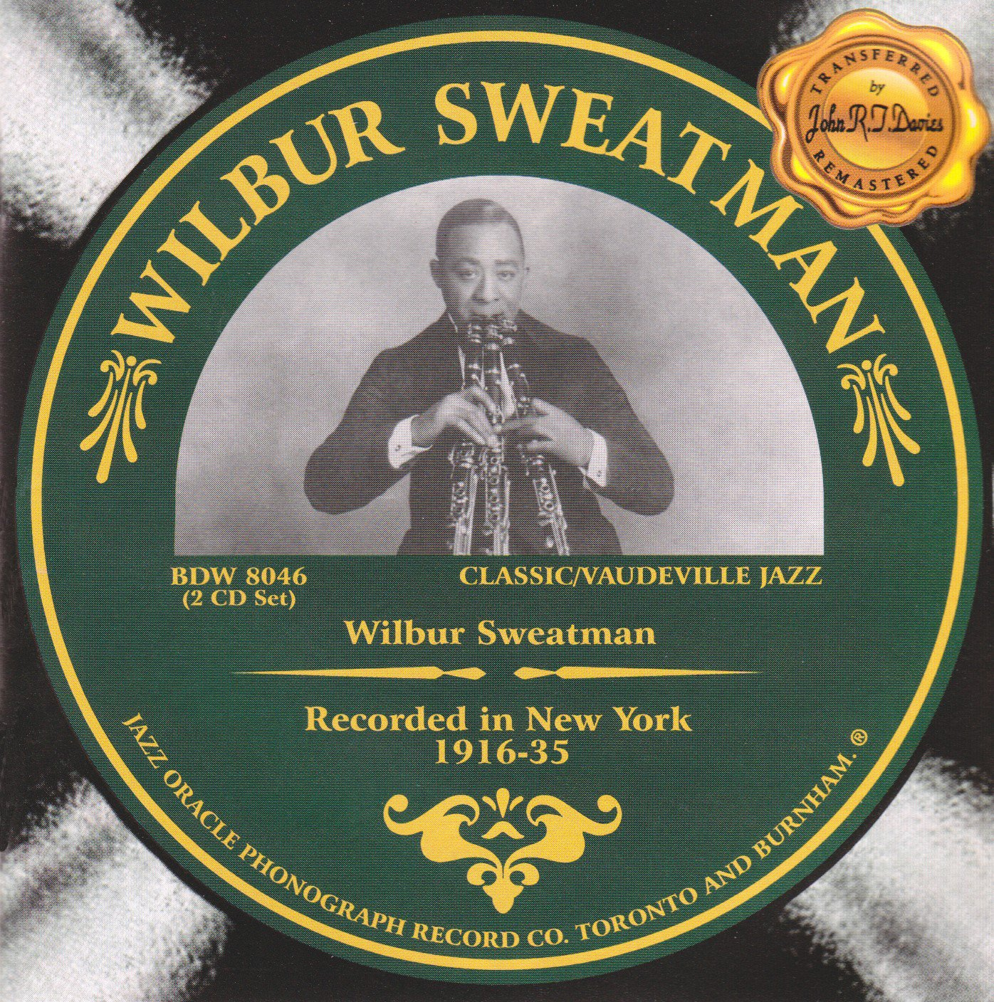 Recorded in New York 1916-35 by Jazz Oracle