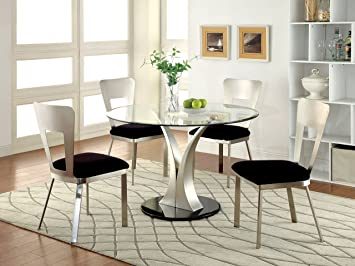 Dining Room Sets With Round Glass Table Tops