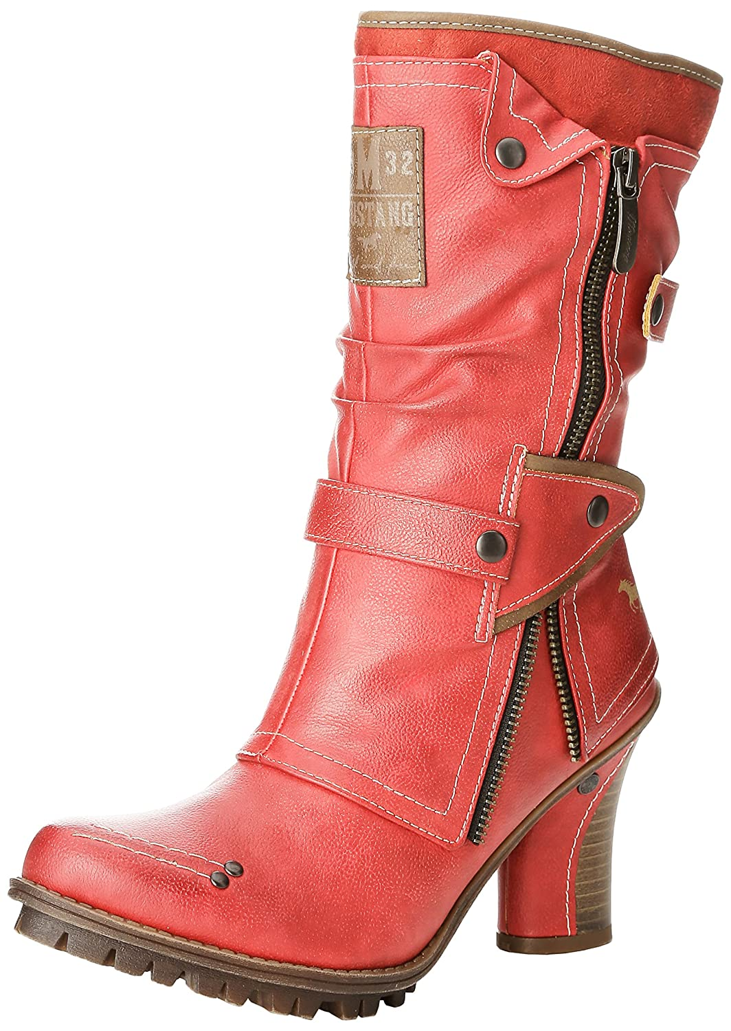 Mustang 10663 1141606, Rot) Boots femme Rouge Mustang (5 Rot) bd15f83 - epictionpvp.space