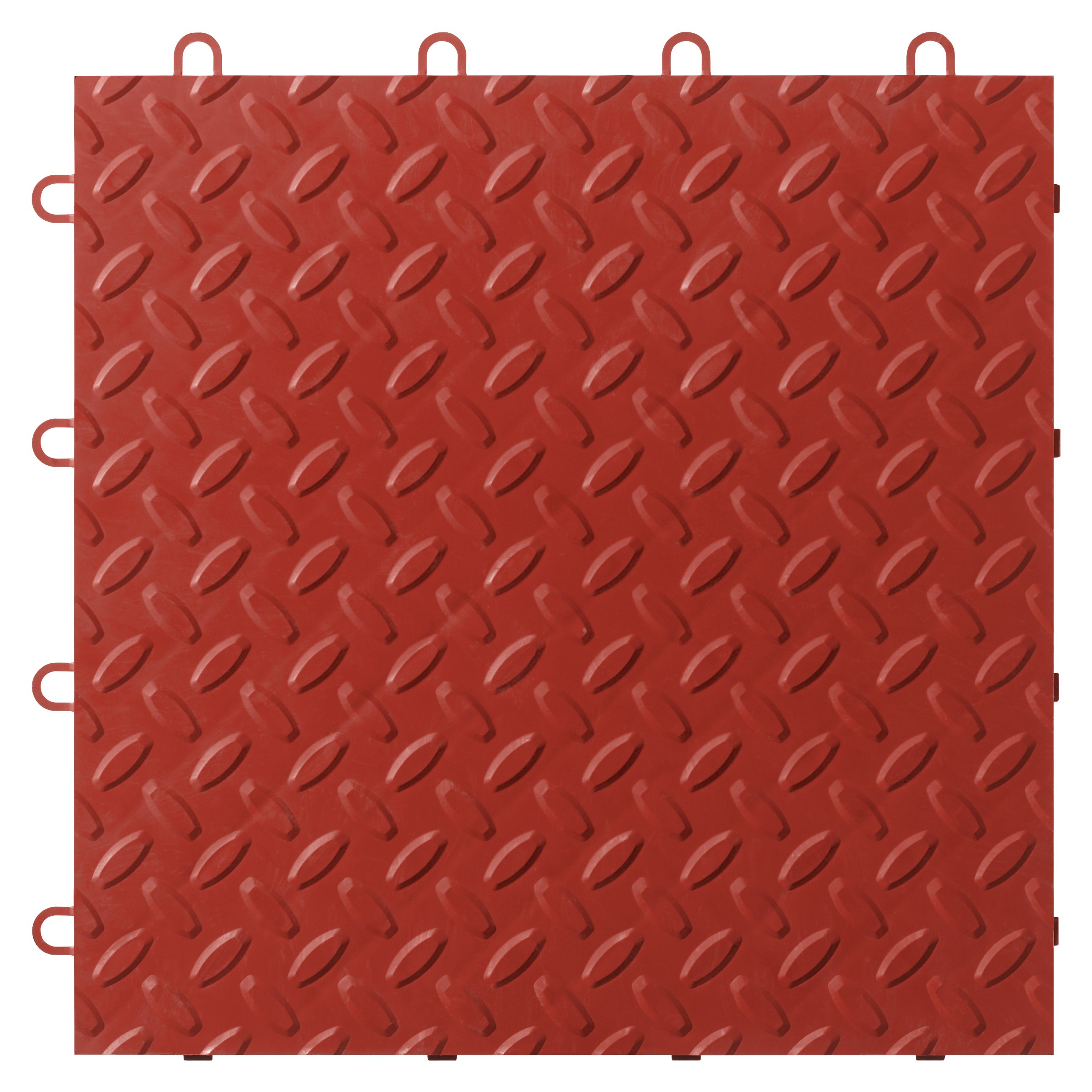 Gladiator GarageWorks GAFT48TTYR Red Floor Tile, 48-Pack by Gladiator