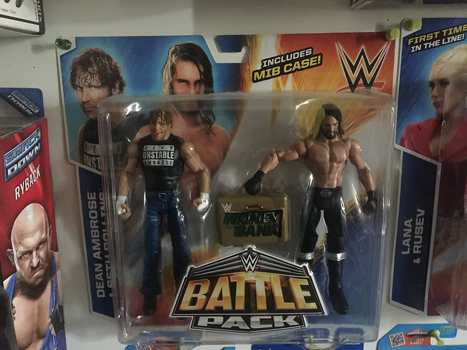 DEAN AMBROSE & SETH ROLLINS - WWE BATTLE PACKS 36 WWE TOY WRESTLING ACTION FIGURE 2-PACKS by Prannoi: Amazon.es: Juguetes y juegos