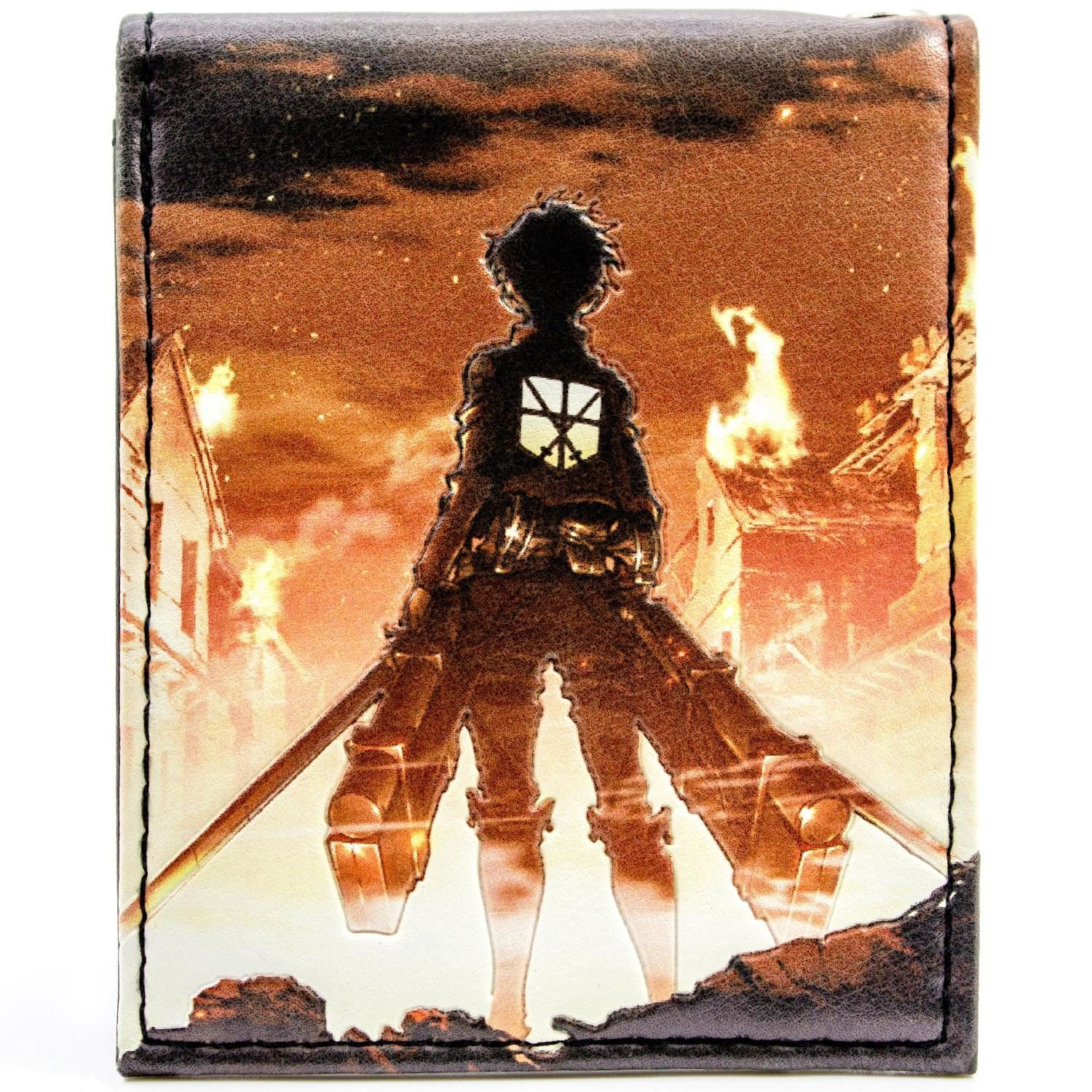 Japanese Attack on Titan Japanese Anime Multicolore Portefeuille Magna Series 27381