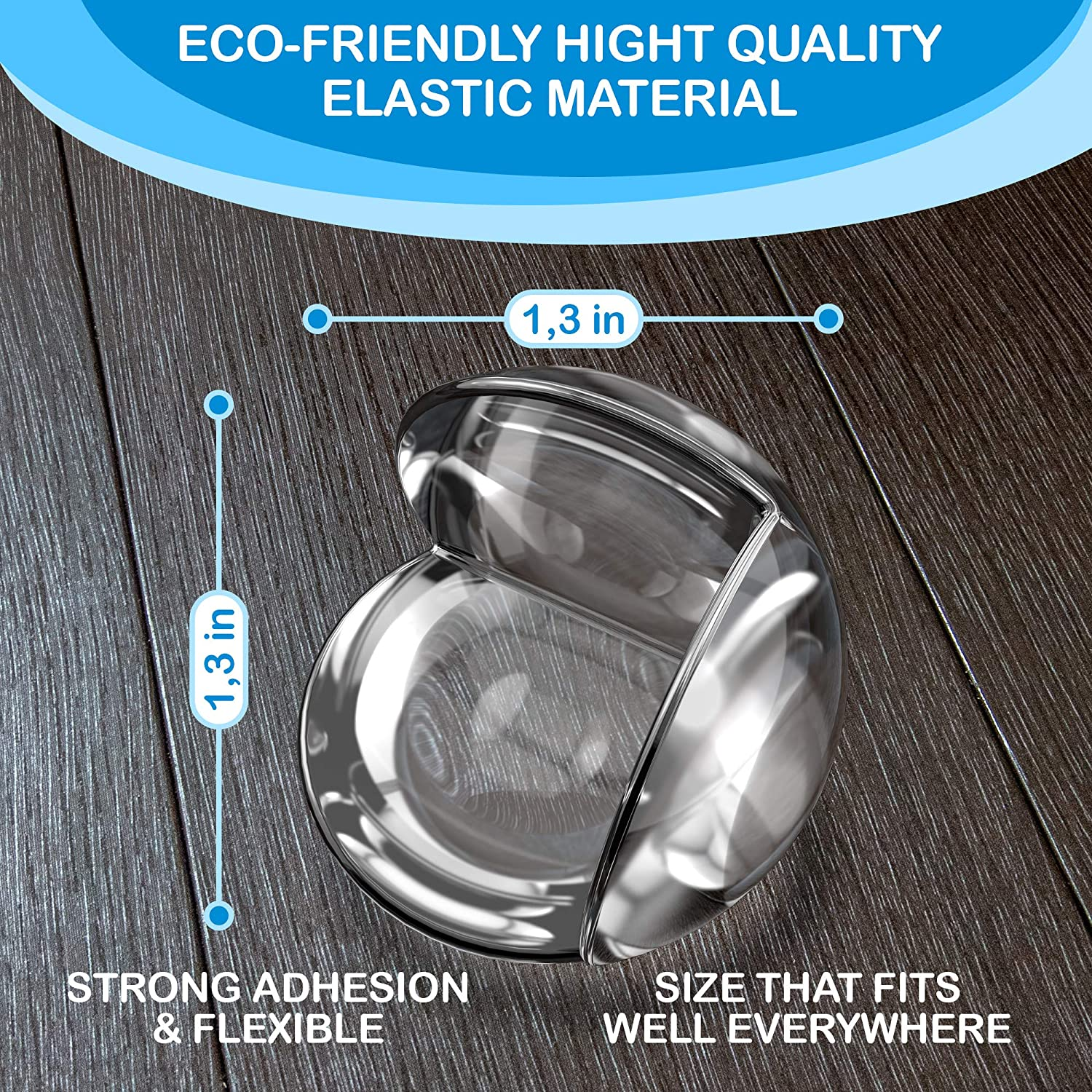 Glass Child Safety Sharp Corner Protector Kids Clear Corner Guards 20 Pack Baby Safety Adhesive Edge Bumpers Table Corner Protectors for Baby Proofing Furniture Child Proof Corner Guard