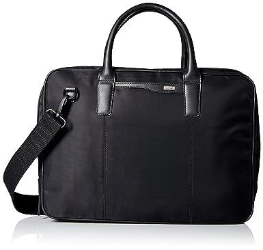 2e45fb6e011 Amazon.com: Cole Haan Men's 15 Briefcase, Black: Clothing