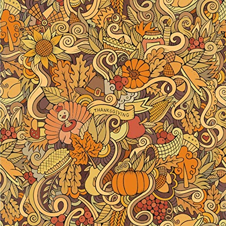 Amazon Com Rnk Shops Thanksgiving Wallpaper Surface