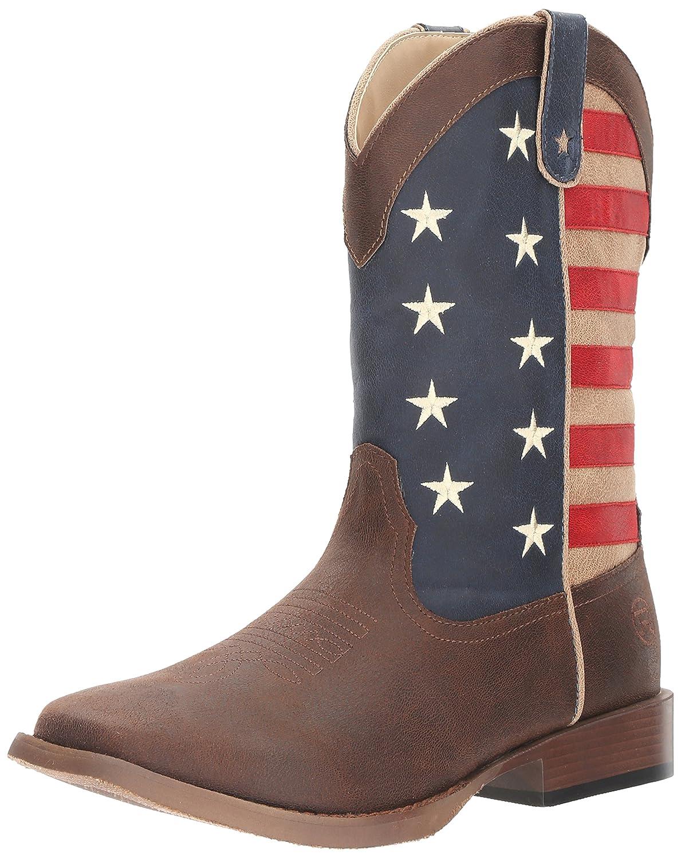 cb4ffa24c1b ROPER Men's American Patriot Western Boot