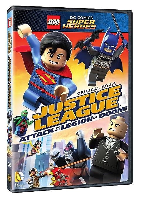 Lego Dc Super Heroes: Justice League: Attack Of Edizione: Stati Uniti Italia DVD: Amazon.es: Morales, Rick, Baker, Dee Bradley, Baker, Troy, Dimaggio, John, Griffin, Greg, Hamill, Mark, Keaton, Josh: Cine y Series