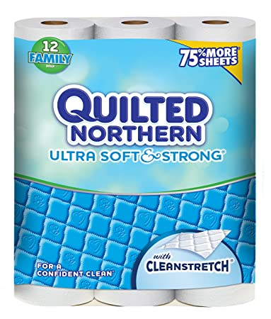 Amazon.com: Quilted Northern Ultra Soft and Strong Toilet Paper ... : quilted toilet paper - Adamdwight.com