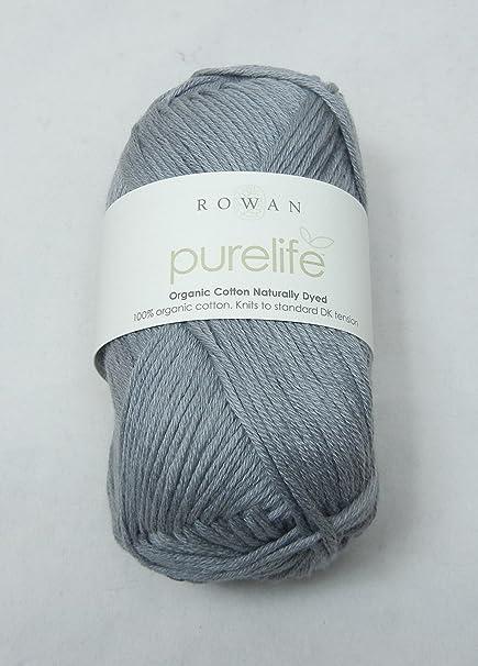 rowan purelife organic cotton naturally dyed dk logwood 981