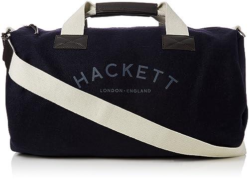 Hackett - Mr Classic Duffle, Carteras Hombre, Blue (Navy), 29x29x53 cm
