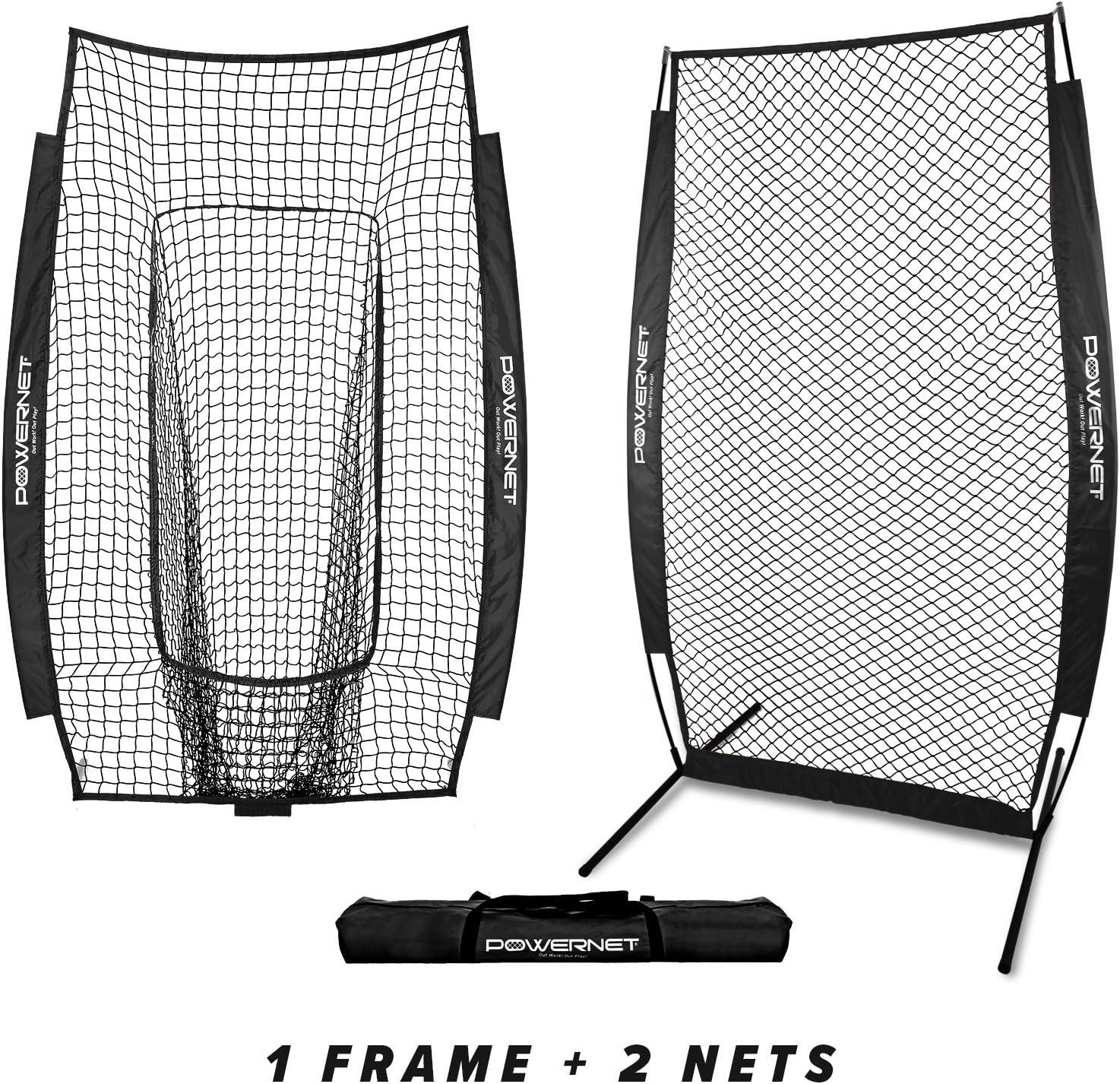 PowerNet I-Screen w Frame Infielder Net Bundle