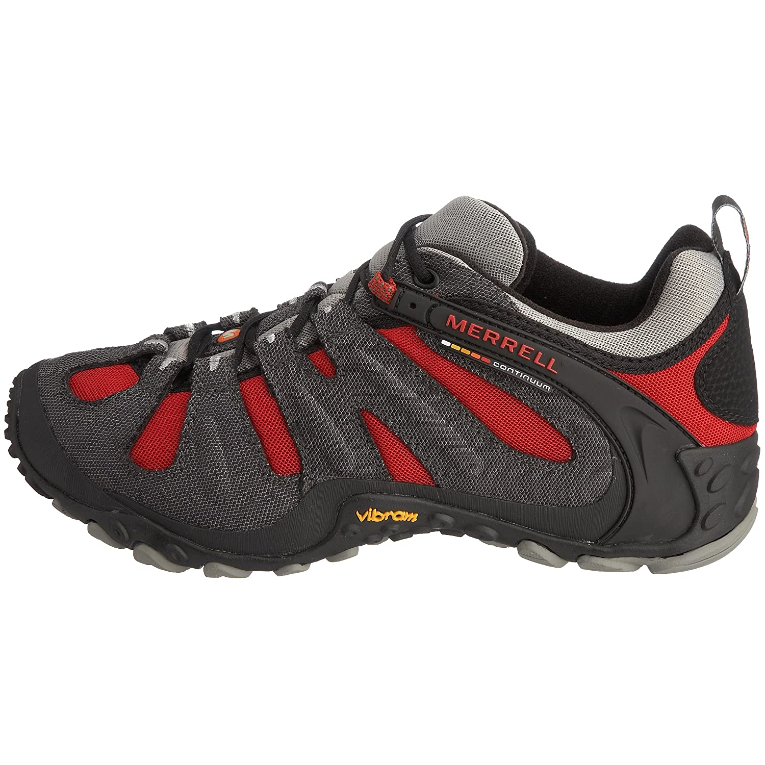 Amazon.com | Merrell Mens Chameleon Slam II Walking Shoe, Charcoal Red - 8.5 D(M) US | Walking