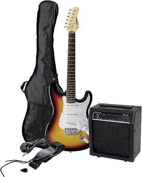 Clifton T327315 - Guitarra eléctrica con amplificador: Amazon.es ...