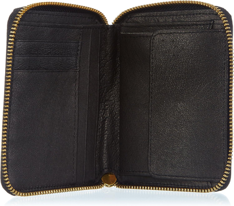 13x11x2 cm Liebeskind Berlin Womens Atlanta Wallets Black Schwarz black//coin Size