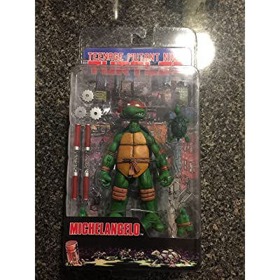 Teenage Mutant Ninja Turtles NECA Comic Style Action Figure Michelangelo: Toys & Games