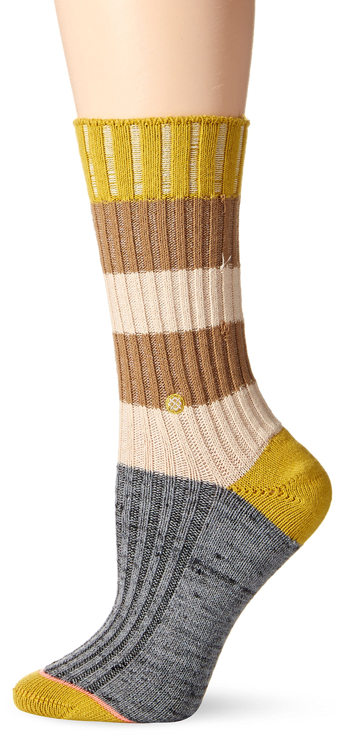Stance Women's Tampa Boot Sock, Khaki, One Size
