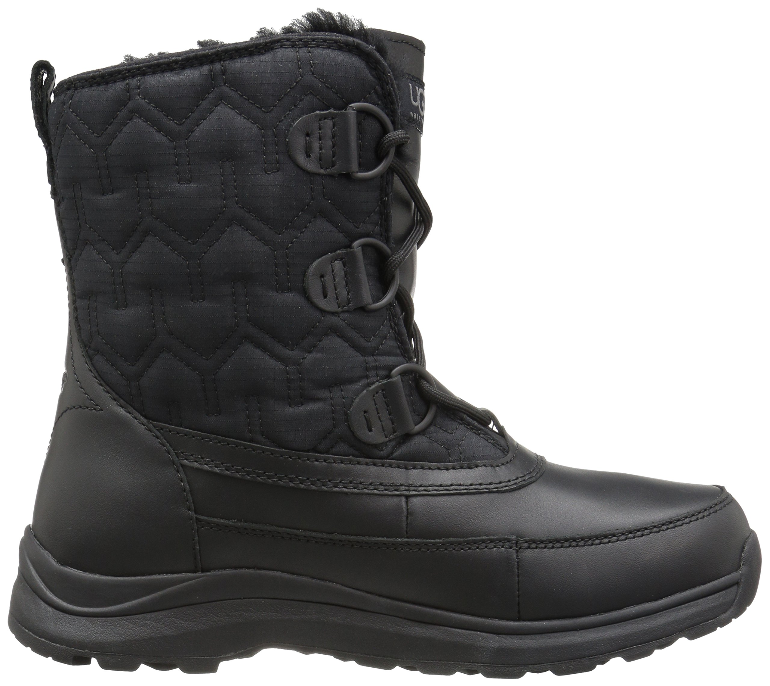 UGG Women's Lachlan Winter Boot, Black, 8 M US by UGG (Image #7)