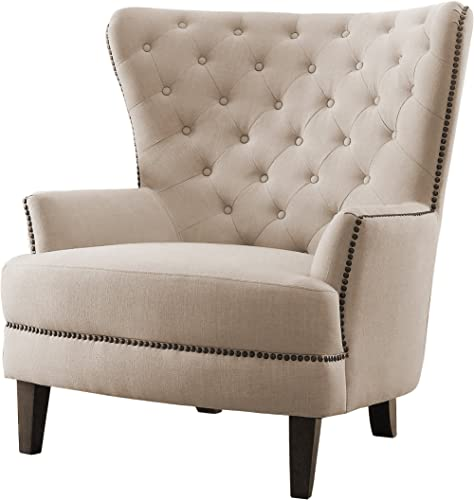Homelegance Rhett Fabric Wingback Chair