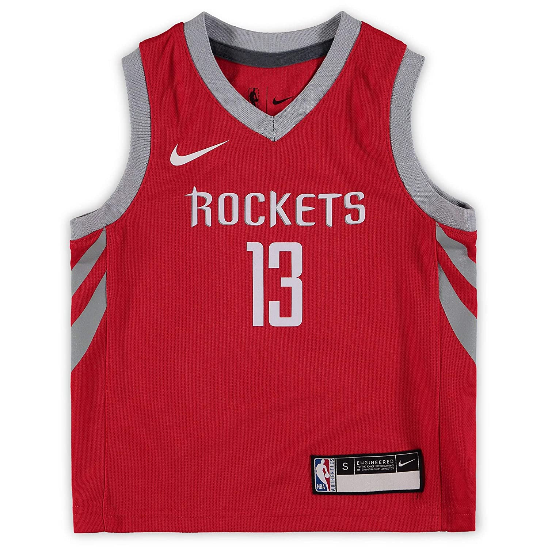 quality design f347b 321c8 Amazon.com : Nike James Harden Houston Rockets NBA Toddler 2 ...