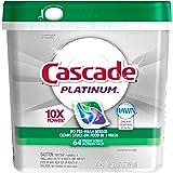 Cascade Platinum ActionPacs Dishwasher Detergent Fresh Scent 64 Count -Old version