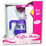Coffee Maker Battery Operated with Lights and Sounds