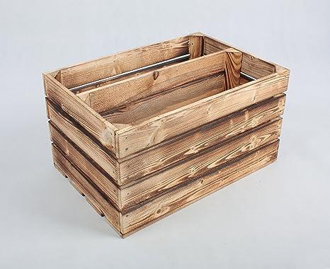 Tavola massive mela casse frutta scatole di vino scatole scatole