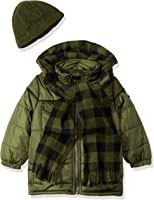 iXtreme Boys' Gwp Puffer Withbuffalo Check Lining