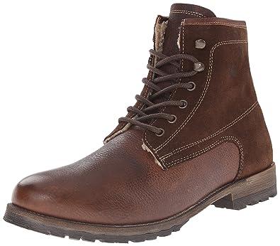 Steve Madden Men's Upsell Winter Boot, Brown, ...