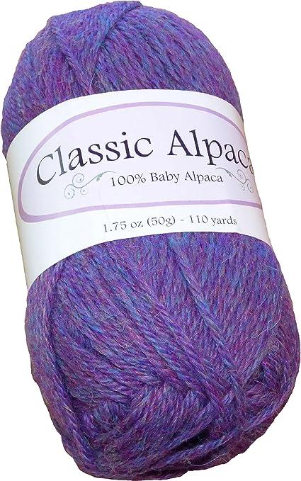 Classic Alpaca 100/% Baby Alpaca Yarn #1820 Mixed Berries 50g//110 yds DK Peruvian