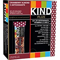 Kind Plus Cranberry Almond & Antioxidants 1.4 oz Bar (12 Count)