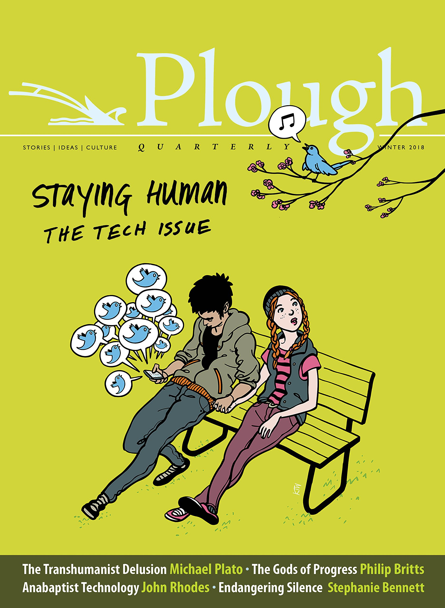 Plough Quarterly No. 15 - Staying Human: Tech Issue Text fb2 book