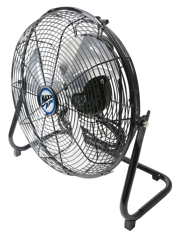 MaxxAir HVFF14UPS Multi Purpose High Velocity 3-Speed Floor Fan, 14-Inch Ventamatic