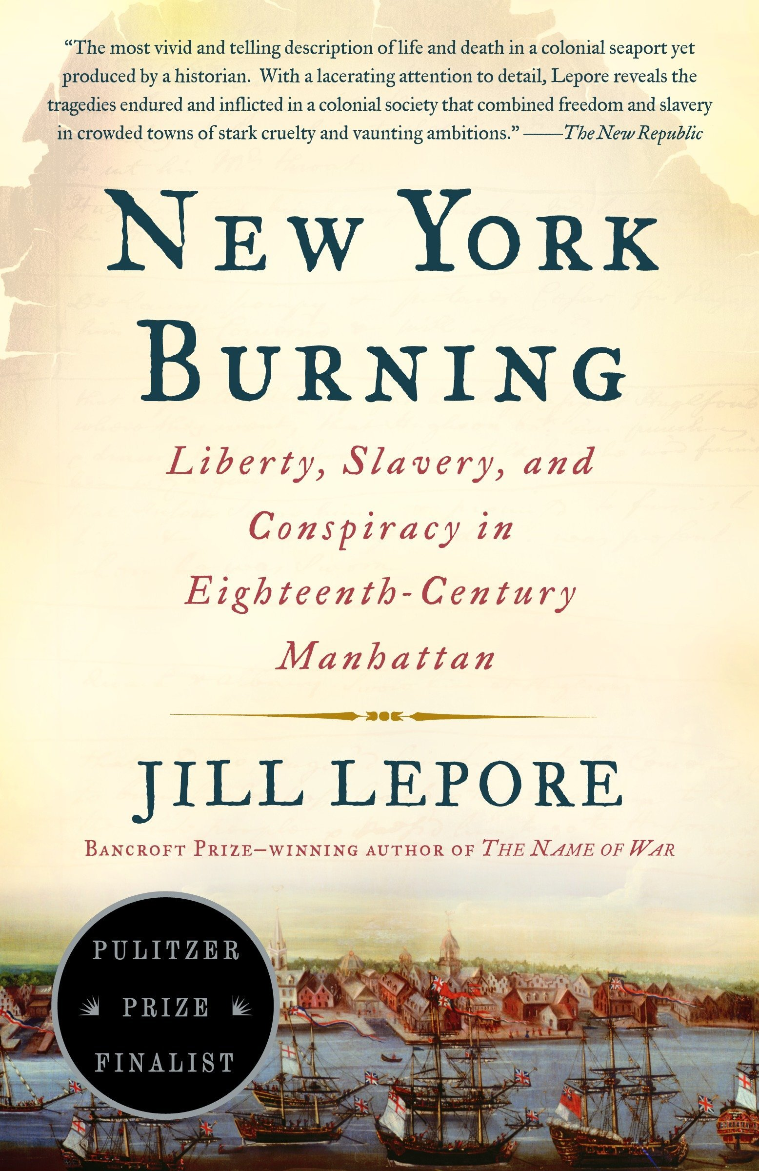 new york burning lepore