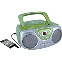 $21 Get Sylvania SRCD243 Portable CD Player with AM/FM Radio, Boombox(Green)