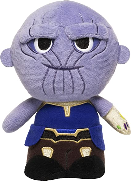 Amazon Com Funko Hero Plushies Marvel Avengers Infinity War Thanos Toys Games