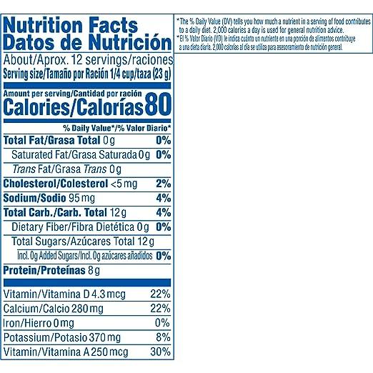 Amazon.com : Nestle Carnation Instant Nonfat Dry Milk, 9.6 ...