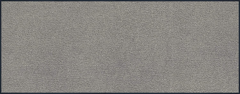 Wash+dry Fußmatte Hellgrau 75x190 cm